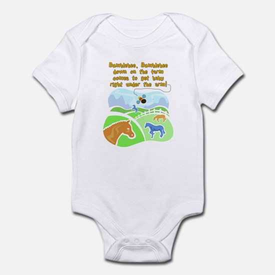 Bumblebee Down On The Farm Infant Bodysuit