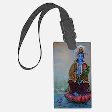 Buddha Luggage Tag
