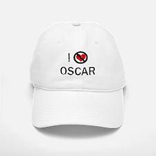 I Hate OSCAR Baseball Baseball Cap