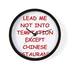 chinese restaurant Wall Clock