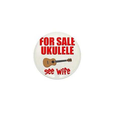 funny ukulele uke Mini Button