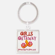 GIRLSGETAWAY2011 Square Keychain