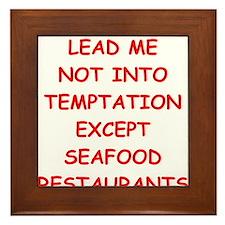 seafood Framed Tile