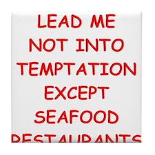 seafood Tile Coaster