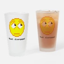 mood- disengaged Drinking Glass