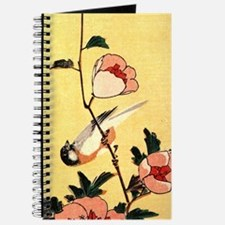 Titmouse and peonies Journal