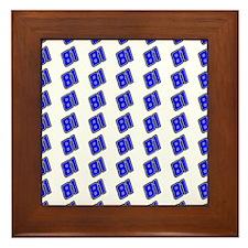 jasonblanket Framed Tile