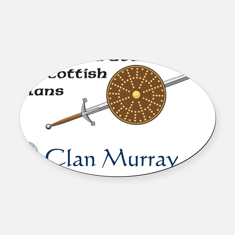 tshirt-Murray Oval Car Magnet