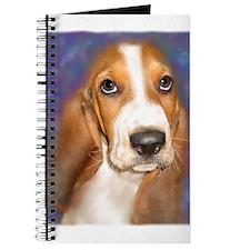Unique Basset hound art Journal