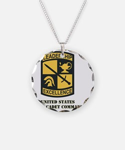 SSI-ARMY CADET COMMAND WITH  Necklace Circle Charm