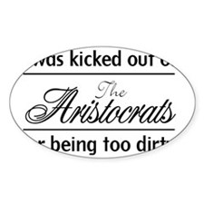 AristocratsBlack Decal