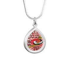 good_karma Silver Teardrop Necklace