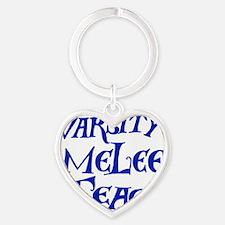 melee-team-t-back3-blue Heart Keychain