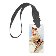 anchors aweigh mini poster Luggage Tag