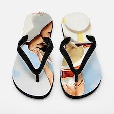 anchors aweigh mini poster Flip Flops