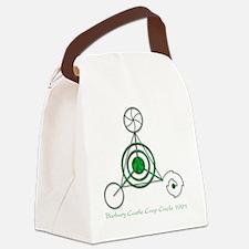 Barbury Castle Crop Circle Canvas Lunch Bag