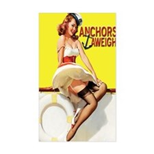 anchors aweigh yellow journal Decal