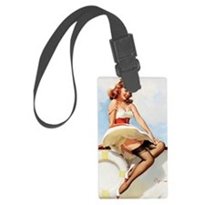 anchors aweigh small poster 16 b Luggage Tag