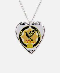 2-1 CAV RGT WITH TEXT Necklace