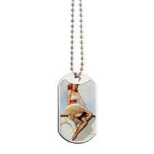 anchors aweigh magnet Dog Tags