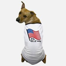 born-on-4th-of-july Dog T-Shirt