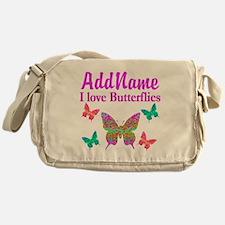 LOVE BUTTERFLIES Messenger Bag