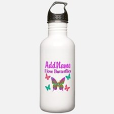 LOVE BUTTERFLIES Sports Water Bottle