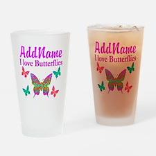 LOVE BUTTERFLIES Drinking Glass