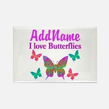 LOVE BUTTERFLIES Rectangle Magnet