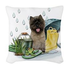 RainPlay Woven Throw Pillow