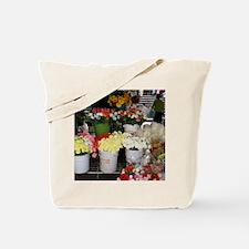 Flower vender Tote Bag