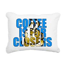 CIFC BLUE Rectangular Canvas Pillow