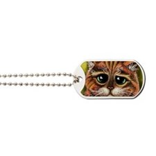 Sad Face Dog Tags