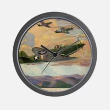 Airacobras Wall Clock