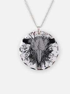 soul ink bull skull Necklace