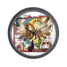 DreamBlack Wall Clock