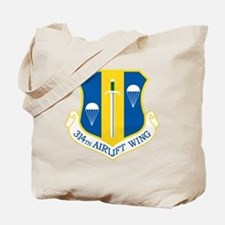 314th Airlift Wing Tote Bag
