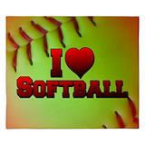 Softball King Duvet Covers