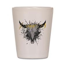 juventus bull Shot Glass