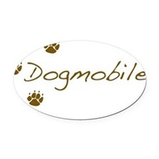 dogmobile Oval Car Magnet