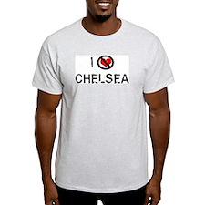 I Hate CHELSEA Ash Grey T-Shirt