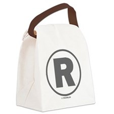 REGISTERED TRADEMARK Canvas Lunch Bag