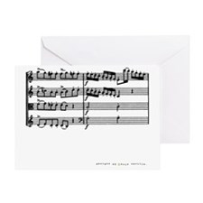 music_score_03 Greeting Card