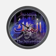 Al-Malik_smallblack Wall Clock