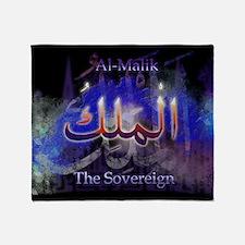 Al-Malik_smallblack Throw Blanket