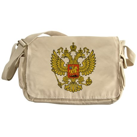 Russia Russland Logo Wappen Messenger Bag