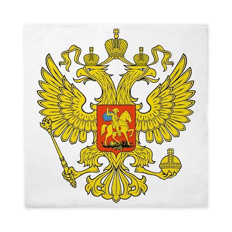 Russia Russland Logo Wappen Queen Duvet