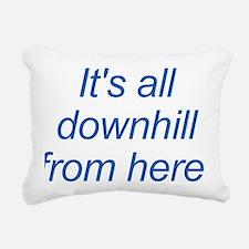 Designs-Community002-bac Rectangular Canvas Pillow