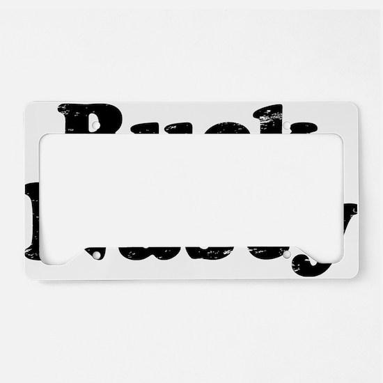 bucknasty License Plate Holder