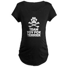 Team Toy Fox Terrier Maternity T-Shirt